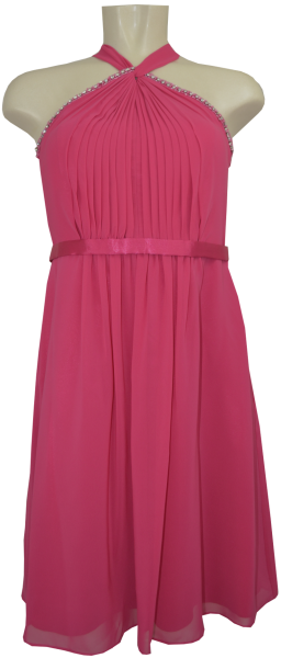 Cocktailkleid in bright pink