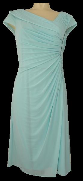 Mittellanges Abendkleid der Marke VERA MONT in Farbe mint ...