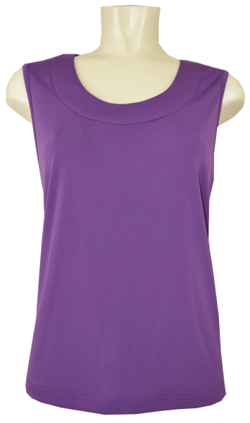 Jersey Top in lila