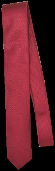 Krawatte reine Seide in rot mit diagonaler Struktur