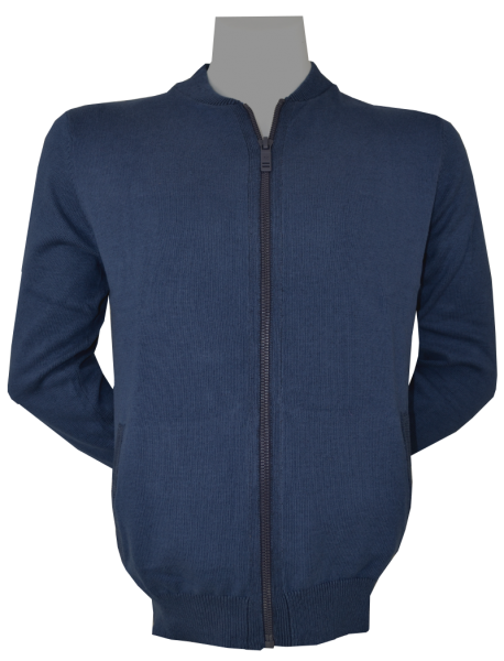 Cardigan Strickjacke in blau