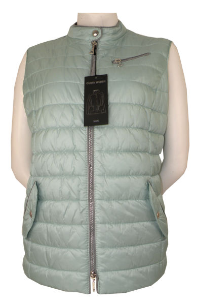 Steppweste Outdoor in Farbe Wasabi