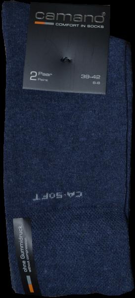 Socken in jeans blau meliert