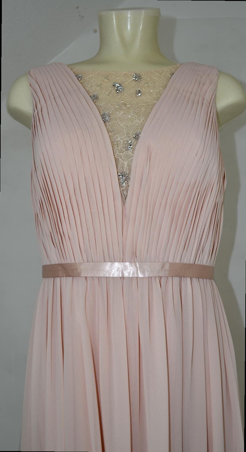 Langes LAONA Ballkleid in rose blush | Mode Dasenbrock