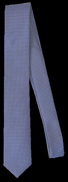 Krawatte reine Seide in mittel Blau mit Mini Sruktur