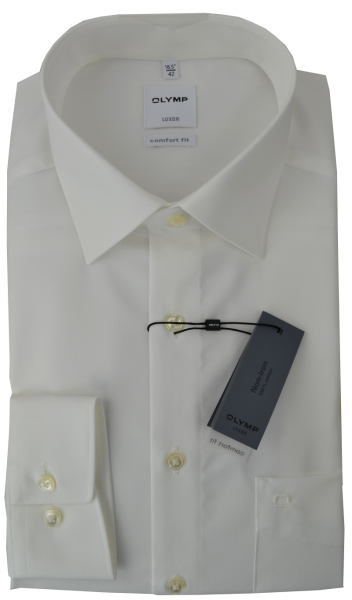 Business Hemd in creme