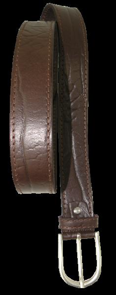 Herren Jeans - Gürtel 40 mm in braun