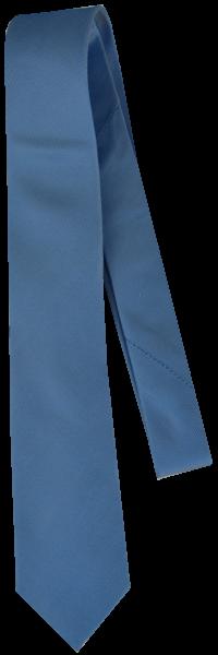Krawatte reine Seide mit Glanz in mittel blau