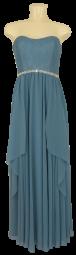 Ballkleid lang in powder blue