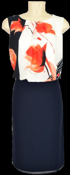 Mittellanges Kleid im Blouson Style