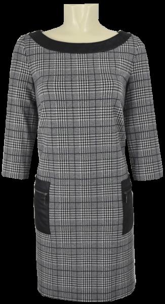 Tages -und Businesskleid in grey-black