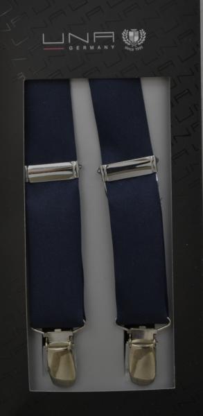 Hosenträger in dunkel blau