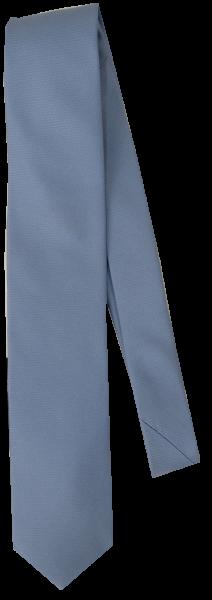 Krawatte reine Seide in Bleu