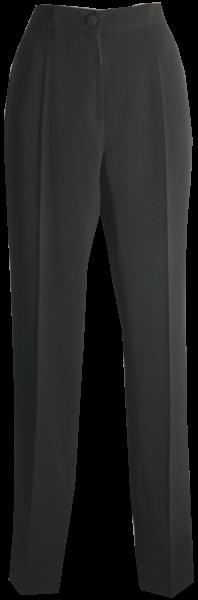 Schmale Hose in schwarz