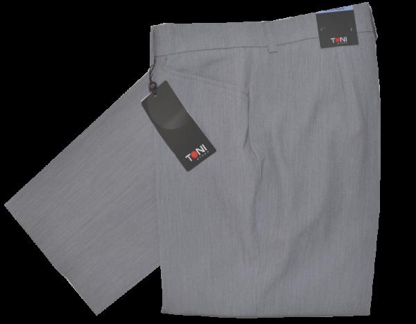 Leichte Stoffhose in grau