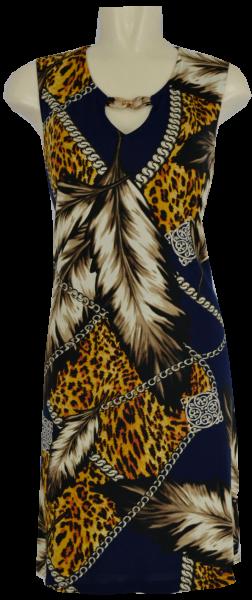 Sommerliches Kleid im Leo Dessin