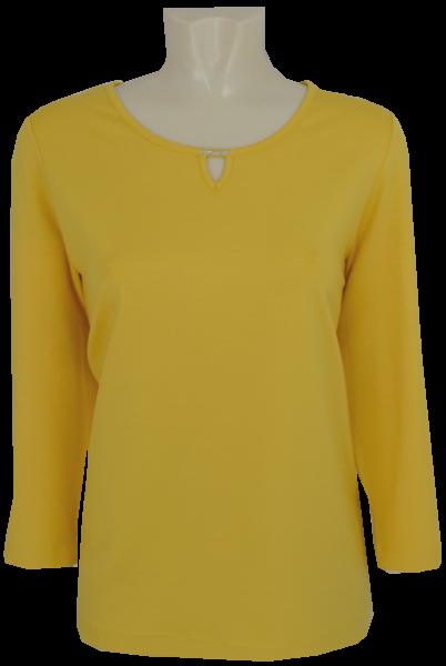 3/4 Arm T-Shirt in uni honig