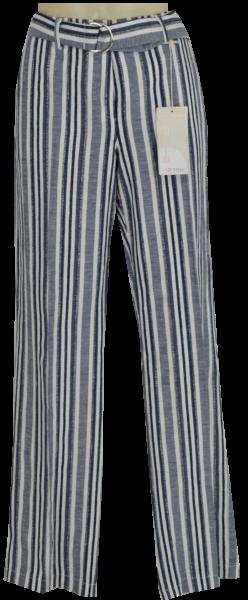 Gerade geschnittene Stripe Marlene Hose