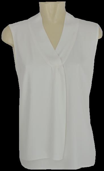Blusenshirt ohne Arm in weiß
