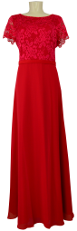 Ballkleid lang in summer red