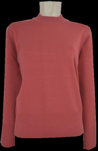 EINZIGARTIG Pullover mit Stehbund in uni ocker
