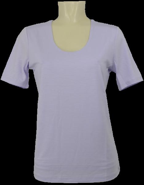 1/2 Arm T-Shirt in uni flieder