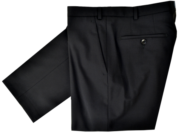 Anzughose SLIM FIT in schwarz