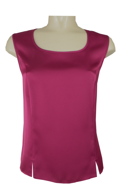 Top festlich in fuchsia