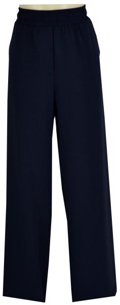 7/8 Palazzo Hose in Navy-Blue
