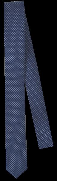 Krawatte reine Seide in blau fein gemustert