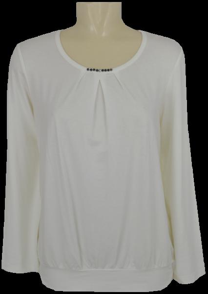 Blusen Shirt mit 1/1 Arm in ecu