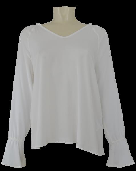 Blusen-Shirt in ecru