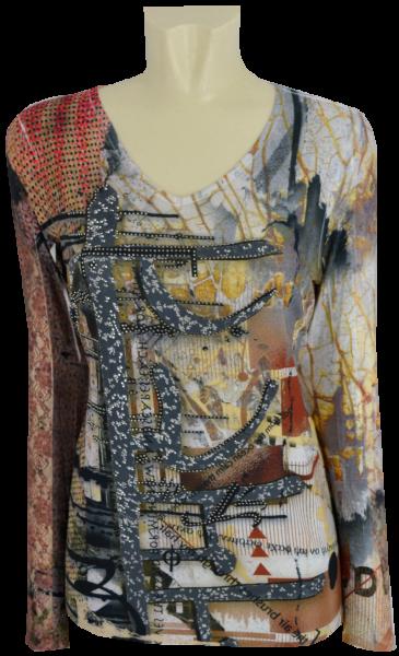 Shirt mit 1/1 Arm