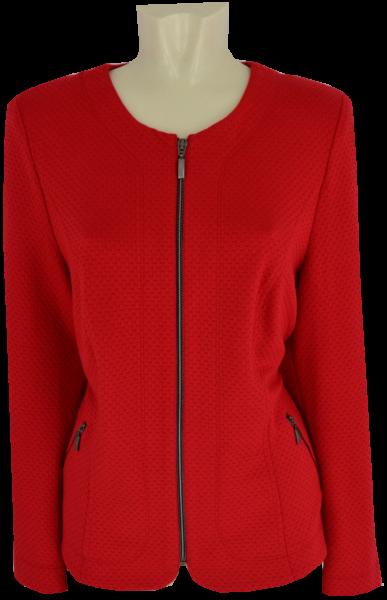 Blazer-Jacke in rot