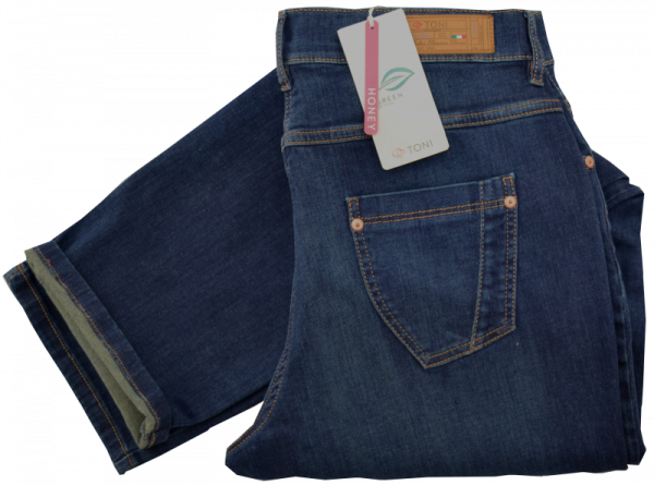 Jeans in mid blue used