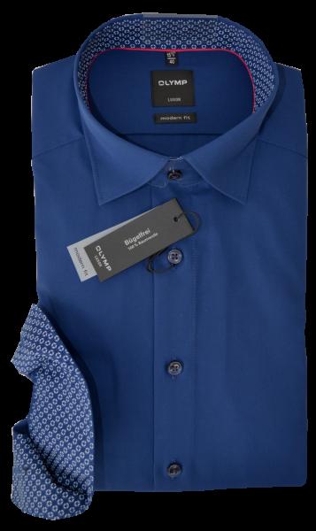 Businesshemd in dunkel blau