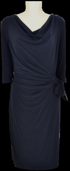 Mittellanges Jesey Kleid in night sky