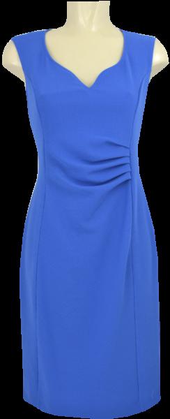 Sommerliches Kleid in uni blue