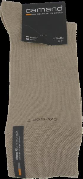 Socken in uni sand