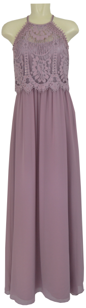 Langes Ballkleid in Shiny Lilac