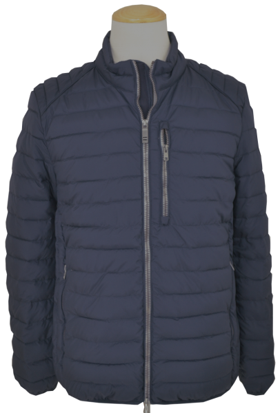 Leichte Outdoor Steppjacke in marine blau