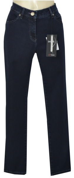 Edle Perfect Shape Jeans in dark blue