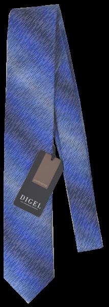 Krawatte reine Seide in mehrfarbig Blau gemustert