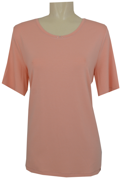 1/2 Arm T-Shirt in uni rose