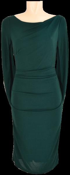 Mittellanges Kleid in green