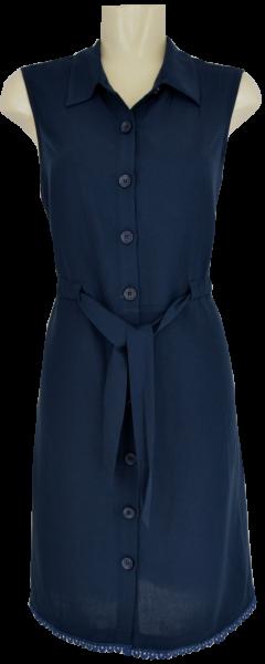 Hemdkleid in navy blue