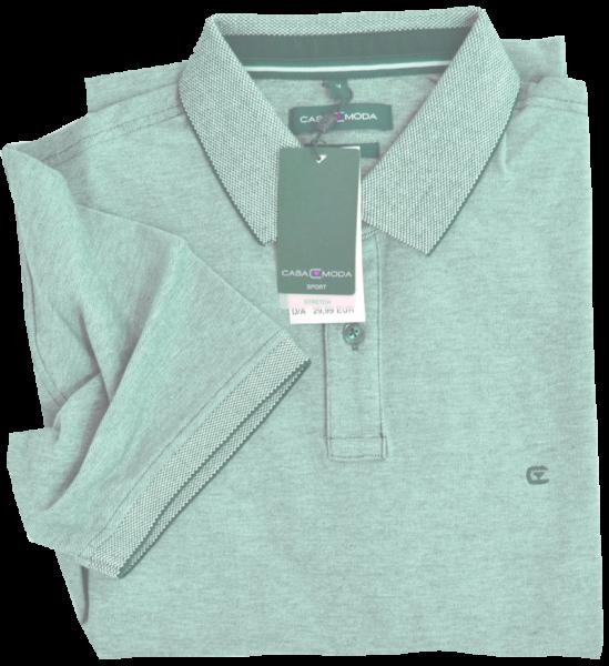 1/2 Arm Polo Shirt in hell grün meliert