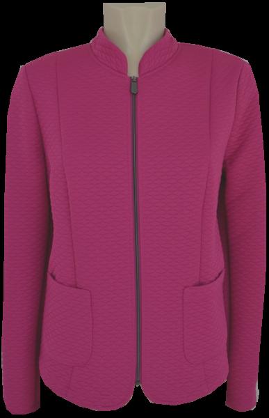 Leichte Jersey Jacke in purple