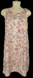 Etui Kleid in allover gemustert