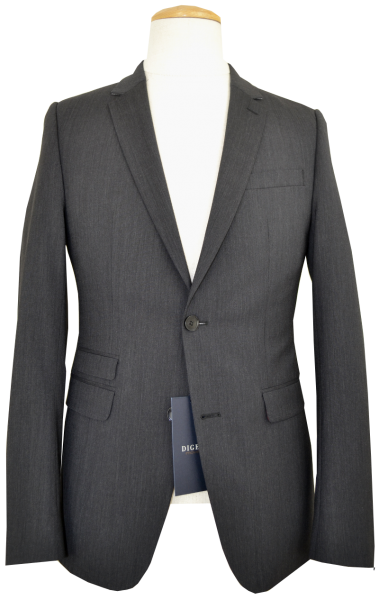 Anzug Blazer EXTRA SLIM FIT in anthrazit meliert